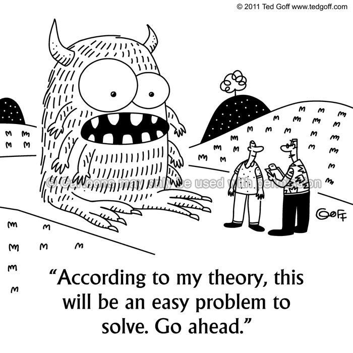 Cartoon about management