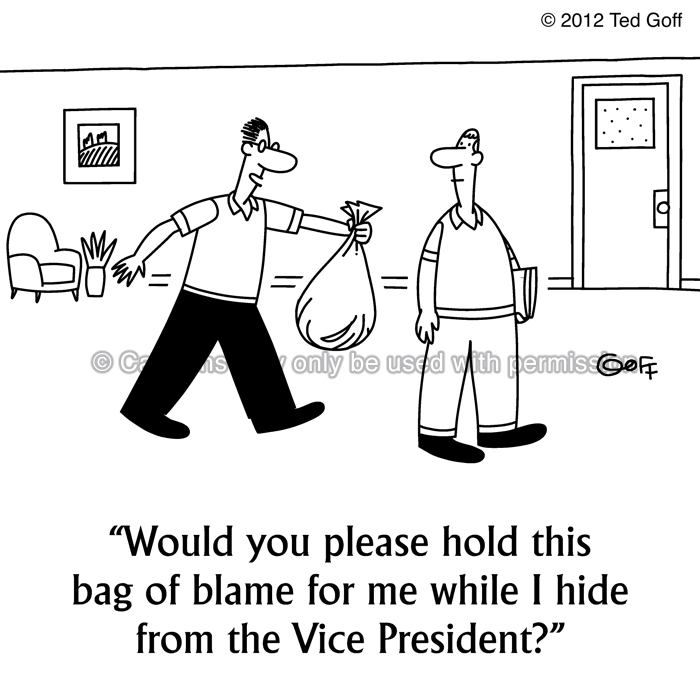 Cartoon about office
