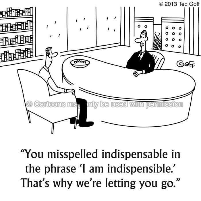 Cartoon about communication