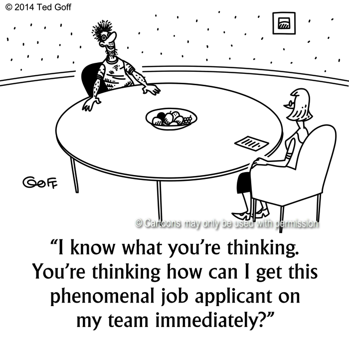 Cartoon about management