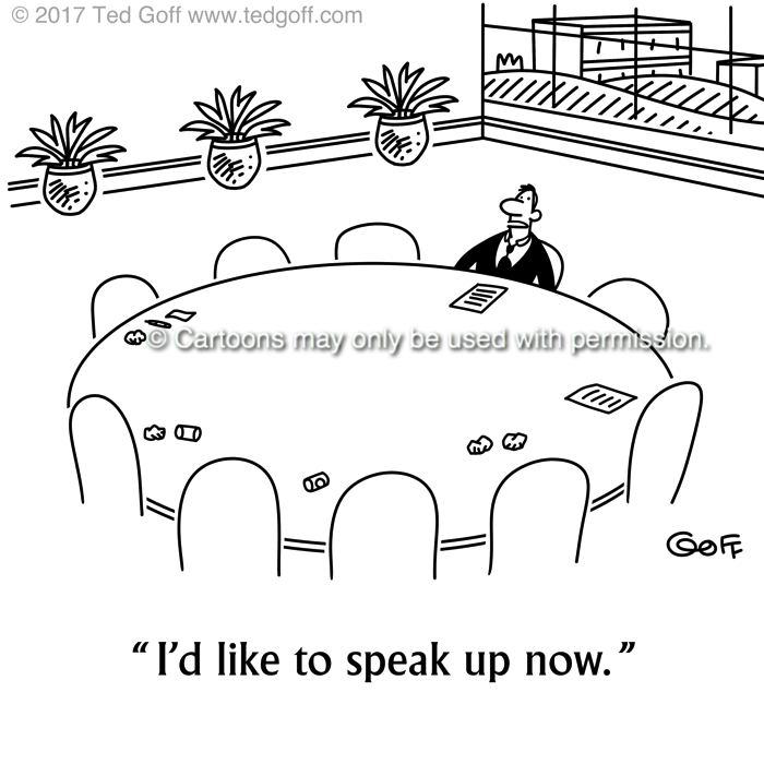 Cartoon about communication